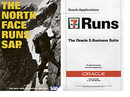 SAP and Oracle - compare the messages